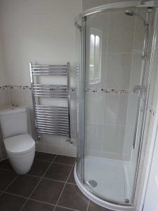 Bathroom designed and installed by Peter Robinson Installations