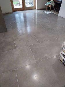Finished flooring at Shirenewton