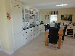 Dining area of large kitchen