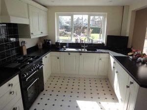 Monochrome kitchen