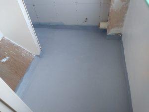 Work in Progress Wet Room above stairwell