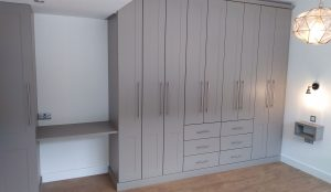 Bespoke fitted bedroom furniture made and installed