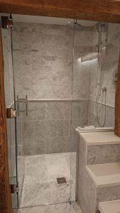 Luxury, large walk in shower