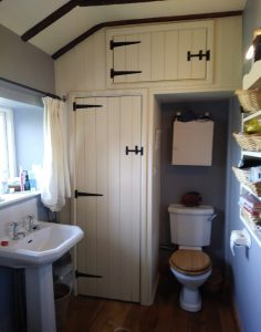 Image showing how the original bathroom looked