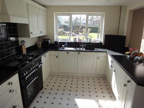 Modern Kitchen - Monochrome - Monmouthshire